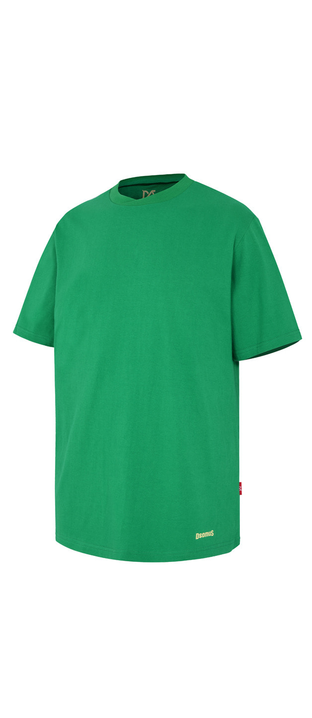 CROSS CREW NECKTSHIRTS-GREEN